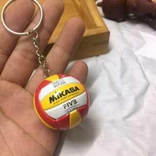 Llavero Voleibol Mikasa MIP 300 Rojo-Amarillo