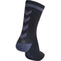 Calcetines Hummel Elite Indoor Sport Low Medios Negro/Gris