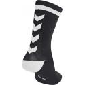 Calcetines Hummel Elite Indoor Sport Low Medios Negro/Blanco