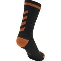 Calcetines Hummel Elite Indoor Sport Low Medios Negro/Naranja