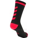 Calcetines Hummel Elite Indoor Sport Low Medios Negro/Rosa