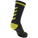 Calcetines Hummel Elite Indoor Sport Low Medios Negro/Amarillo