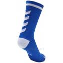 Calcetines Hummel Elite Indoor Sport Low Medios Azul/Blanco