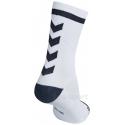 Calcetines Hummel Elite Indoor Sport Low Medios Blanco/Negro