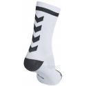 Calcetines Hummel Elite Indoor Sport Low Medios Blanco/Antracita