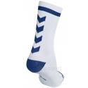 Calcetines Hummel Elite Indoor Sport Low Medios Blanco/Azul