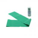 Banda Elástica Verde 1.50cm Densidad  Extrafuerte