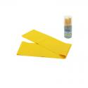 Banda Elástica Amarillo 1.50cm Densidad Fuerte