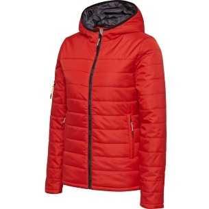 Abrigo HMLnorth Quilted Hood Jacket Woman