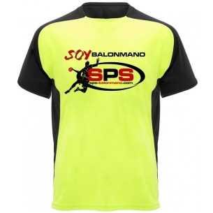 Camiseta Técnica SPS Balonmano Amarillo