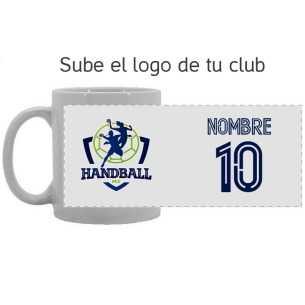 Taza Logo-Nombre-Número