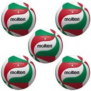 Pack 5 Balones Molten V5M4000