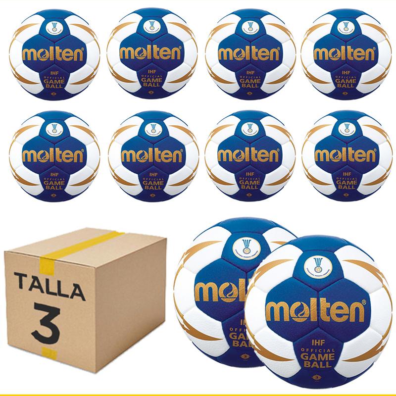 Pack 10 Balones Molten H3X5000 Talla 3