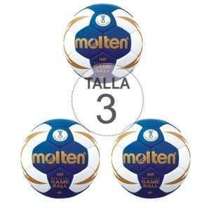 Pack 3 Balones Molten H3X5000 Talla 3