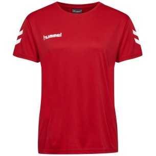 Camiseta Hummel Core Poly Tee Woman S/S