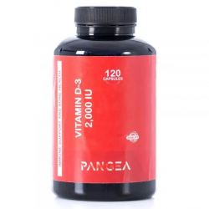 Pangea Vitamina D-3 120 Cápsulas