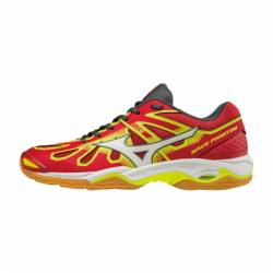 Mizuno Wave Phantom Red