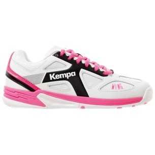 Kempa Wing Junior Blanco Rosa
