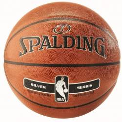 Balón NBA Silver IN/OUT