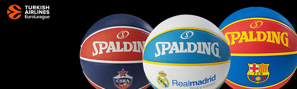 balones auroleague team balls spalding